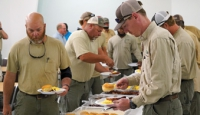SAEC Hosts  Lineman  Appreciation Breakfast