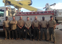 SAEC crews headed to Talquin Electric Cooperative