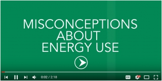 Misconceptions About Energy Use