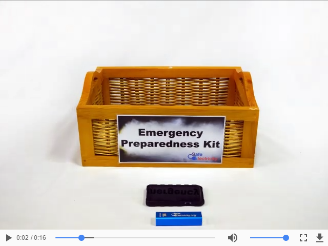 Link to Emergency Preparedness Kit video on a different site